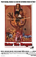Enter the Dragon Deadly Framed Print