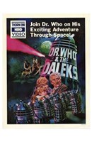 Dr Who and the Daleks Wall Poster