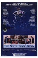 "The Neverending Story - Atreyu Bastian Mr. Bux - 11"" x 17"""