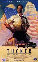 "Tucker: the Man and His Dream Jeff Bridges - 11"" x 17"""