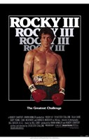 Rocky 3 Sylvester Stallone Framed Print