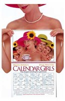 "Calendar Girls Film - 11"" x 17"" - $15.49"