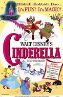 "Cinderella Disney Movie - 11"" x 17"", FulcrumGallery.com brand"