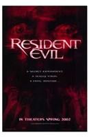 """Resident Evil - red - 11"""" x 17"""" - $15.49"""