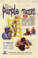 "Purple Noon Rene Clement - 11"" x 17"""