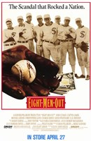 Eight Men Out Cusack James Lerner Wall Poster
