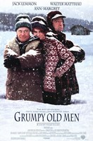 Grumpy Old Men Framed Print