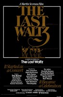 Last Waltz By Martin Scorsese Wall Poster
