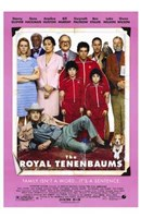 The Royal Tenenbaums Wall Poster