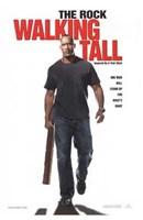 "Walking Tall The Rock with Baseball Bat - 11"" x 17"""