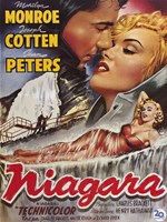 "Niagara Marilyn Monroe Lounging - 11"" x 17"""