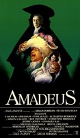 Amadeus Green with Cast Tall Wall Poster