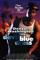 Devil in a Blue Dress Wall Poster