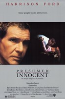 Presumed Innocent Wall Poster