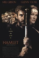 Hamlet with a sword Framed Print