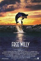 Free Willy Fine Art Print