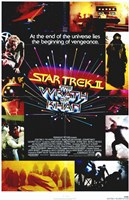 Star Trek 2: the Wrath of Khan Movie Wall Poster