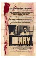 "Henry: Portrait of a Serial Killer - 11"" x 17"""