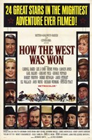 """How the West Was Won Henry Fonda - 11"""" x 17"""""""