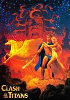 """Clash of the Titans - style E, 1981, 1981 - 11"""" x 17"""""""