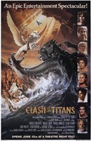 """Clash of the Titans - style A, 1981, 1981 - 11"""" x 17"""""""