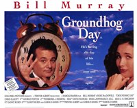 Groundhog Day Wall Poster