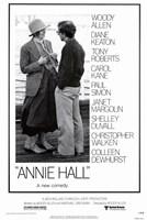 Annie Hall Woody Allen Diane Keaton Fine Art Print