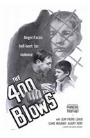 400 Blows - B&W Wall Poster