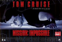 """Mission: Impossible - wide - 17"""" x 11"""""""