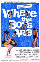 "Where the Boys Are - 11"" x 17"""