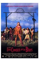 Even Cowgirls Get the Blues Wall Poster