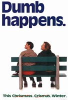 Dumb and Dumber - dumb happens Framed Print