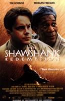 The Shawshank Redemption Robbins and Freeman Framed Print