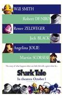 "Shark Tale - characters - 11"" x 17"""