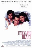 "Untamed Heart movie poster - 11"" x 17"""