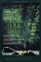 """a River runs though it - 11"""" x 17"""""""