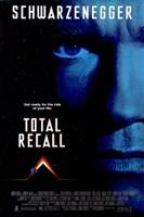 Total Recall Arnold Schwarzenegger Wall Poster