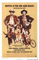 """Butch Cassidy and the Sundance Kid Beige - 11"""" x 17"""""""