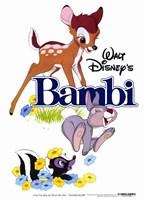 """Bambi Thumper Flower - 11"""" x 17"""", FulcrumGallery.com brand"""