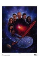 Star Trek: The Next Generation Framed Print