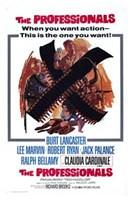 """The Professionals Burt Lancaster - 11"""" x 17"""""""