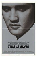 """This is Elvis (movie poster) - 11"""" x 17"""""""