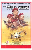 "The Wild Geese (movie poster) - 11"" x 17"""