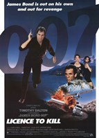 "Licence to Kill James Bond Revenge - 11"" x 17"" - $15.49"