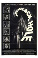 """The Black Hole Black and White - 11"""" x 17"""" - $15.49"""