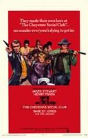"Cheyenne Social Club - 11"" x 17"", FulcrumGallery.com brand"