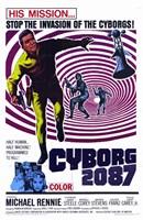 """Cyborg 2087 - 11"""" x 17"""""""
