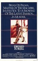 """Dressed to Kill Brian De Palma - 11"""" x 17"""" - $15.49"""