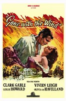 "Gone with the Wind Yellow Border - 11"" x 17"" - $15.49"