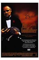 The Godfather 25 Anniversary Wall Poster